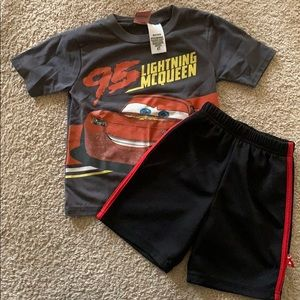 Disney Matching Sets - Cars themed T-shirt & shorts set by Disney